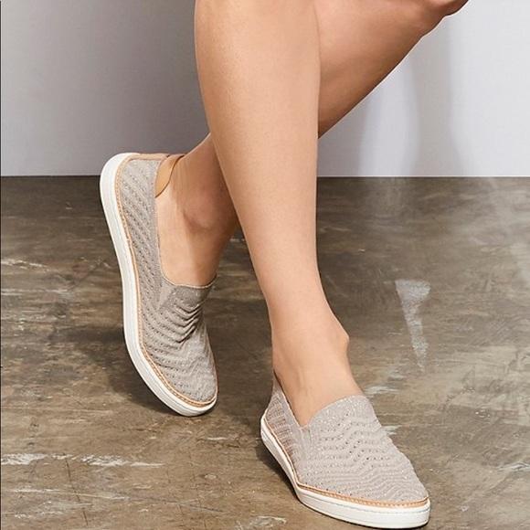 UGG Sammy Chevron Metallic Sneakers